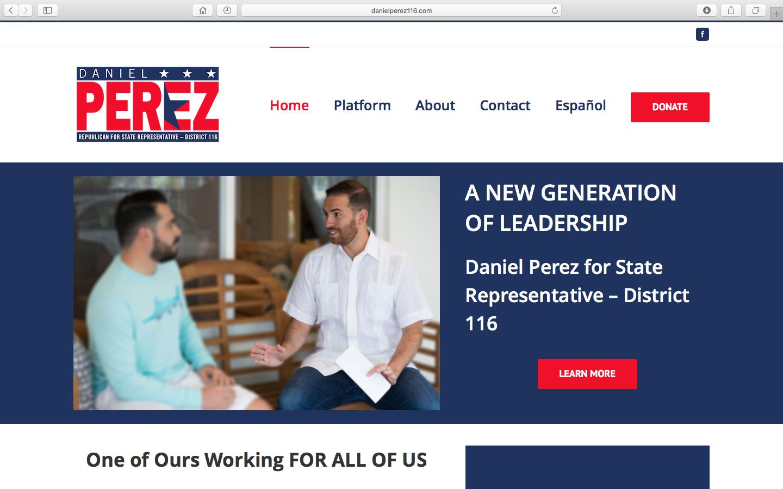 Daniel Perez for State Representative – District 116